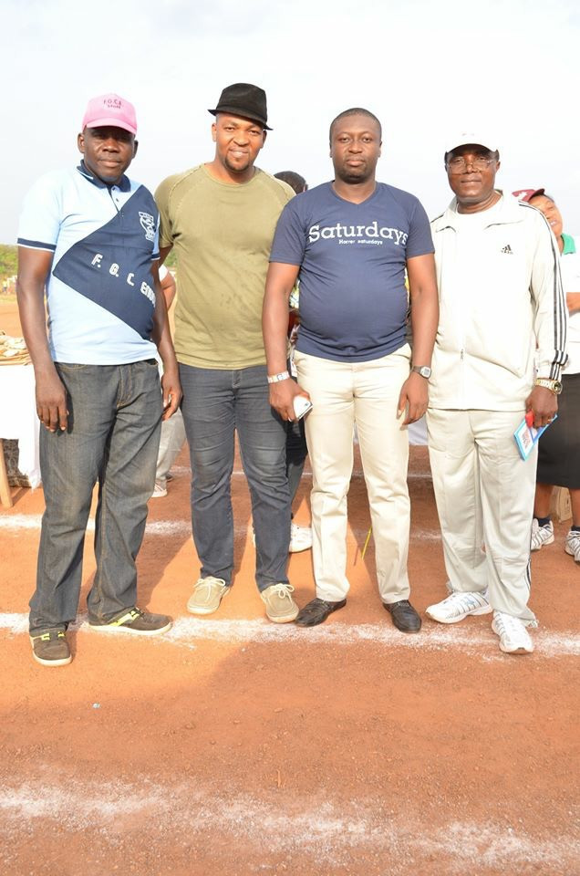 From L-R: Mr Femi aka Samanja, Chuks Emedike, Rapture Ejim,