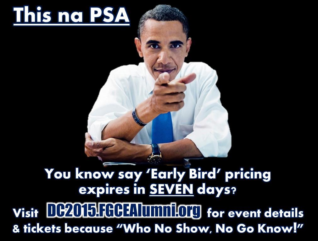 Obama PSA